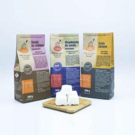 Pastille lave vaisselle maison - DIY - boutique zéro déchet