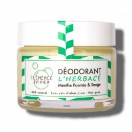 Déodorant naturel pour homme - L'herbacé - boutique zero dechet