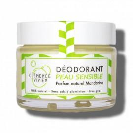 Déodorant naturel peau sensible - sans sel d'aluminium - Zéro Déchet