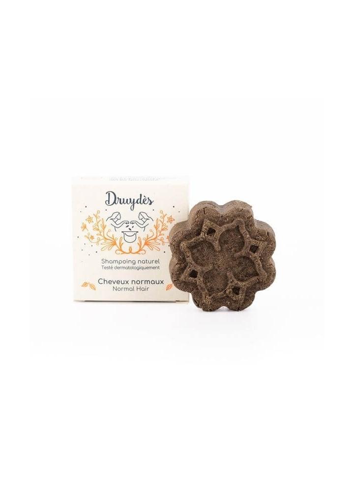Shampoing Solide cheveux normaux - Druydès - boutique Zéro Déchet