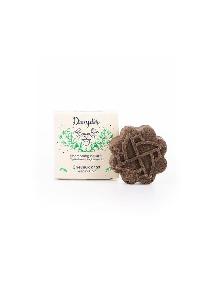 Shampoing Solide cheveux Gras - Druydès - e shop Zéro Déchet