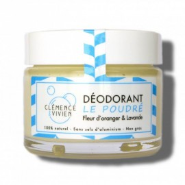 Clémence et Vivien - Déodorant naturel - Le poudré - Parfum incroyable