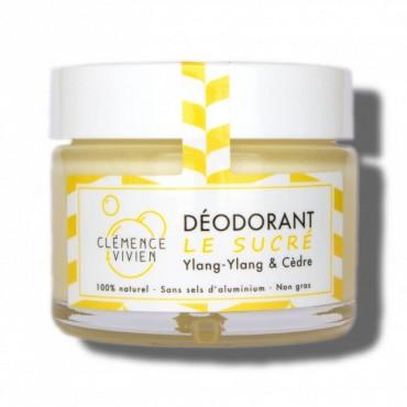 Déodorant naturel sans sel d'aluminium - Le sucré - Clémence et Vivien