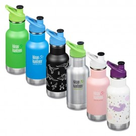 Gourde inox enfant isotherme sans BPA  - STOP plastique