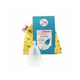 Coupe menstruelle ou cup féminine - boutique zéro déchet