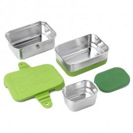 Détails Boîte à déjeuner Splash Box 3 en 1 - 1L - Ecolunchbox