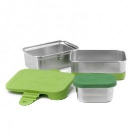 Ecolunchbox - Boîte à déjeuner Splash Box 3 en 1 - 1L