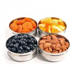 Boîte à snack ronde Dipper - 200ml - Ecolunchbox