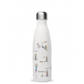 Qwetch - Gourde inox - Yoga by Soledad - Rester Zen avec My Little Cabane