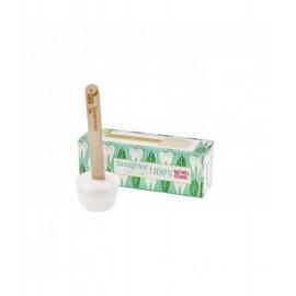 Dentifrice solide zéro déchet à la menthe poivrée Lamazuna