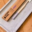 Brosse à dents adulte extra souple en bambou