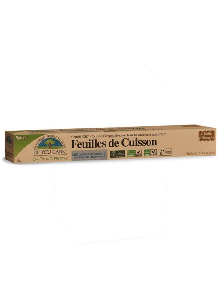 Feuilles de papier cuisson compostable - My Little Cabane