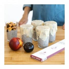Emballages 100% naturels, réutilisables et compostable en fin de vie