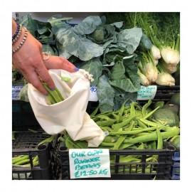 Sac en coton biologique - moyen - pour vos courses zéro déchet