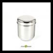 Boîte inox 600 ml zéro déchet de la marque Jolie Monde