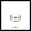 Goûter zero dechet : boite inox, emballage réutilisable sur My Little Cabane
