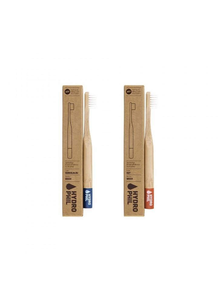 Brosse à dents bambou enfant - démarche zéro déchet