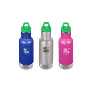 Gourde enfant inox - sans BPA - isotherme - 355ml - Klean Kanteen