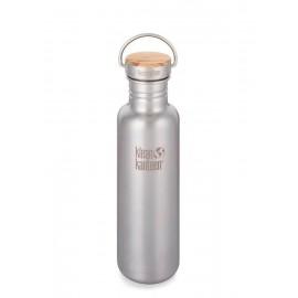 Gourde inox classic Reflect bouchon Bambou - 800 ml - Klean Kanteen
