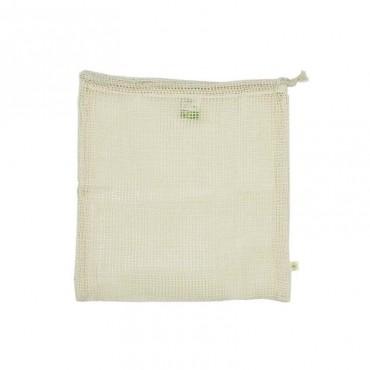 Sac en maille coton biologique - Large - pour des courses sans déchet