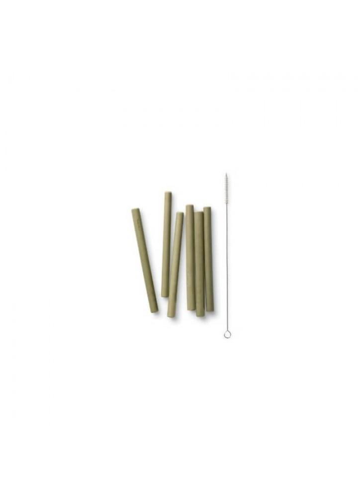 Pailles en bambou courtes - lot de 6 - My Little Cabane