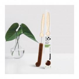 Goupillon en noix de coco pour le nettoyage de vos gourdes Zéro Déchet
