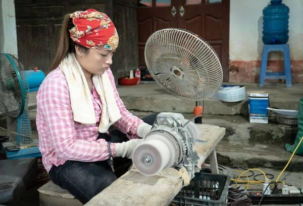 fabrication paille en bambou biologique