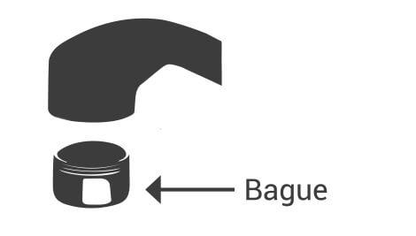 Bague robinet